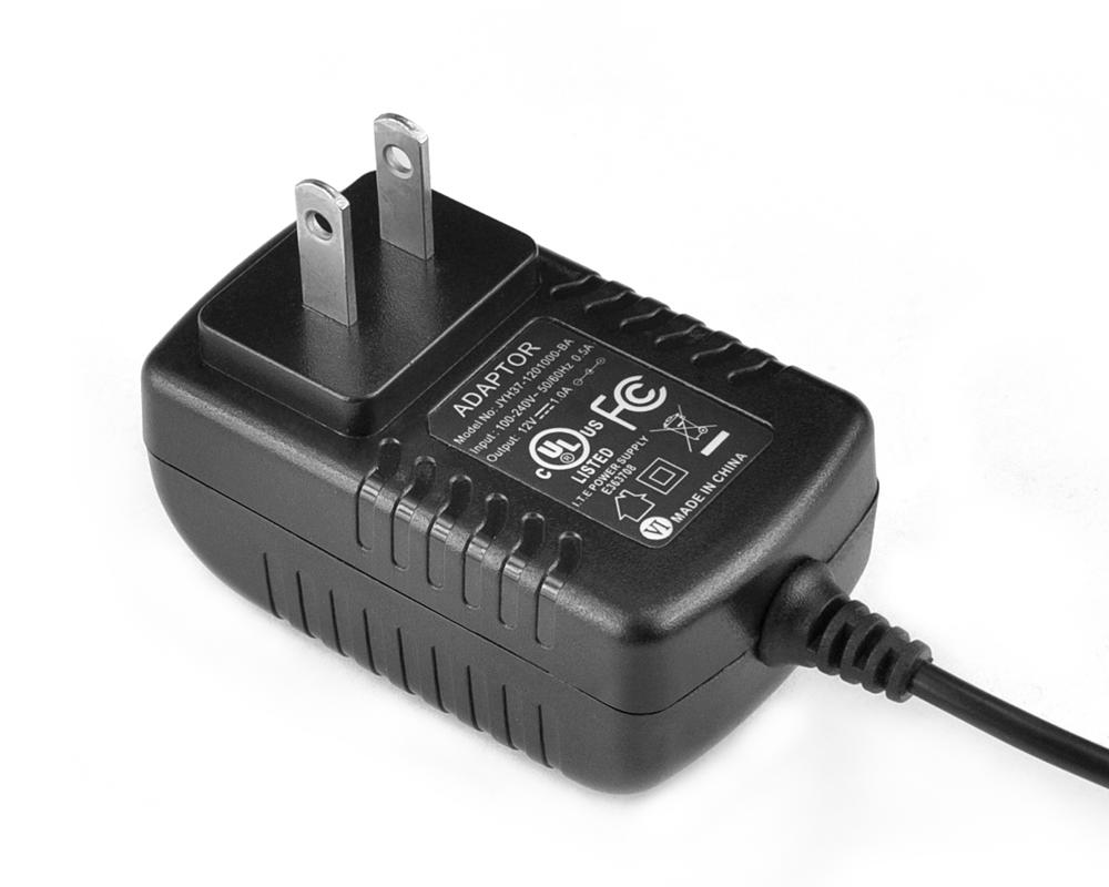 24V0.5A日规卧式优质电源适配器