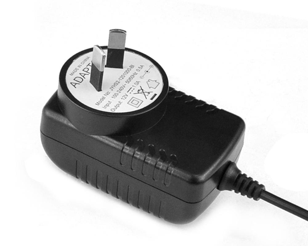 24V0.5A澳规卧式优质电源适配器