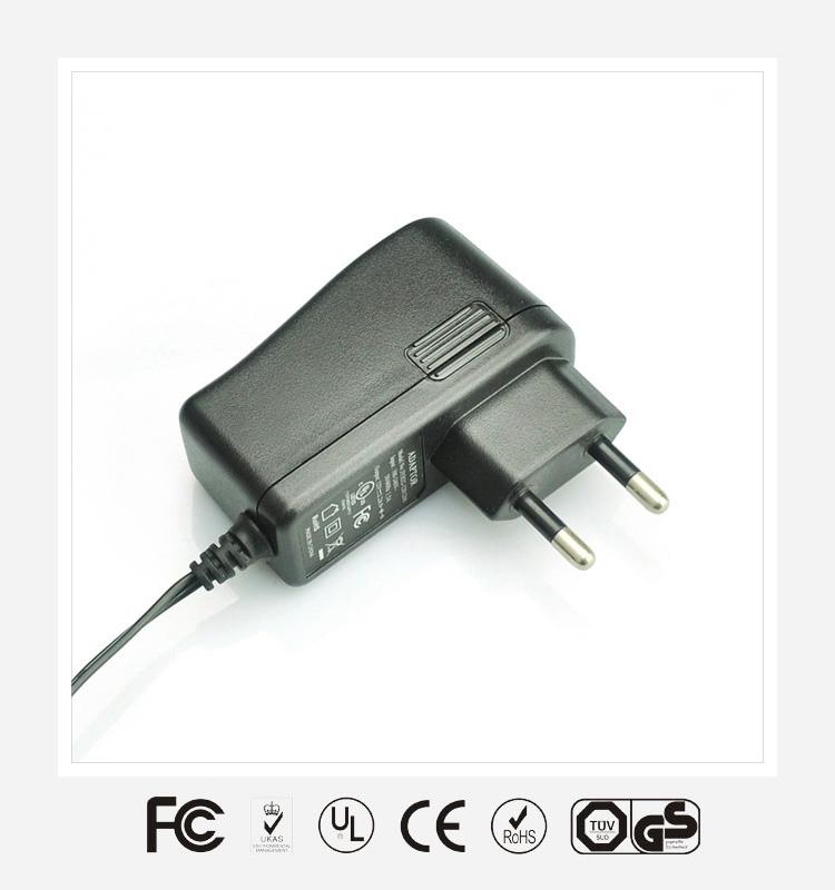 5V2.1A欧规立式优质电源适配器