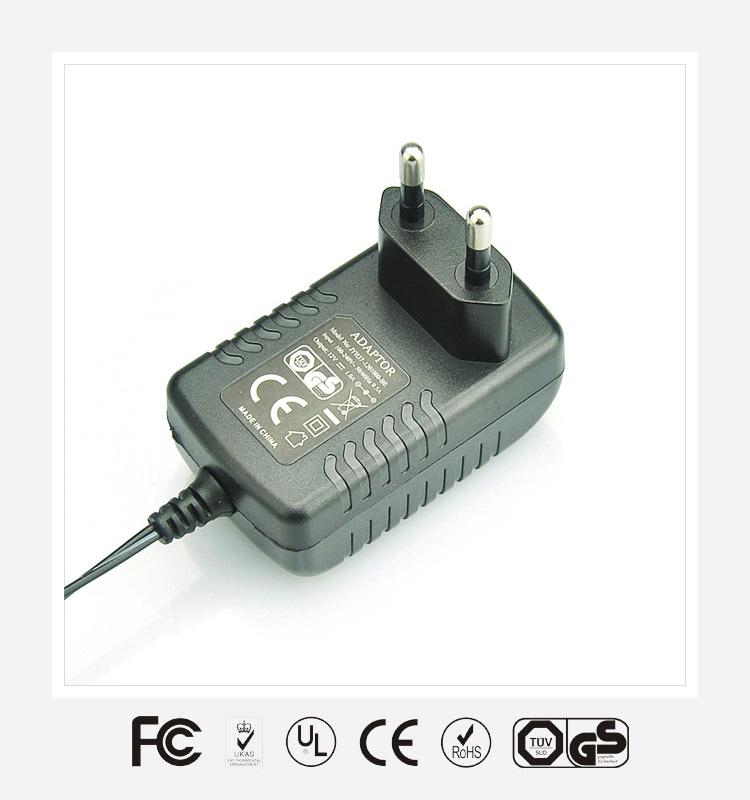 5V3.5A欧规卧式优质电源适配器