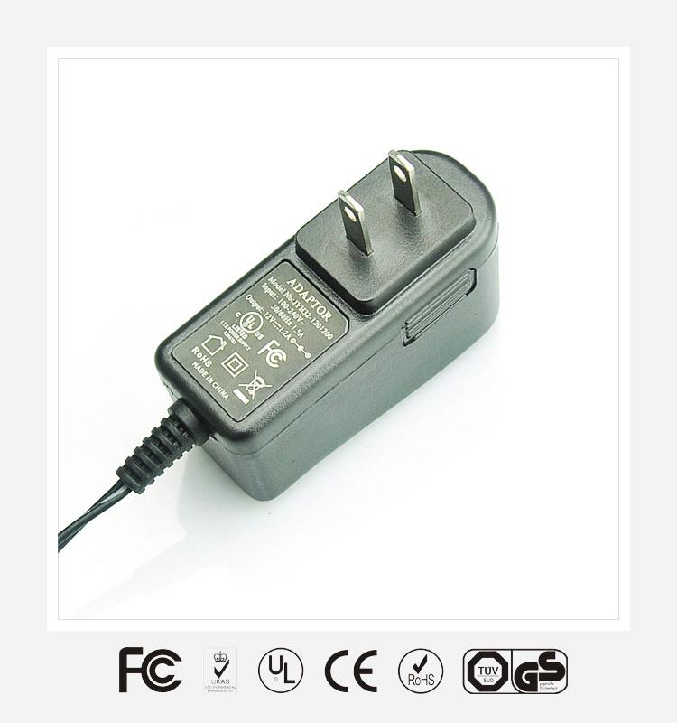 6V2.5A美规立式优质电源适配器