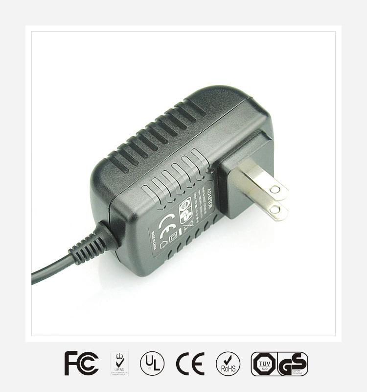 12V1.5A美规卧式优质电源适配器
