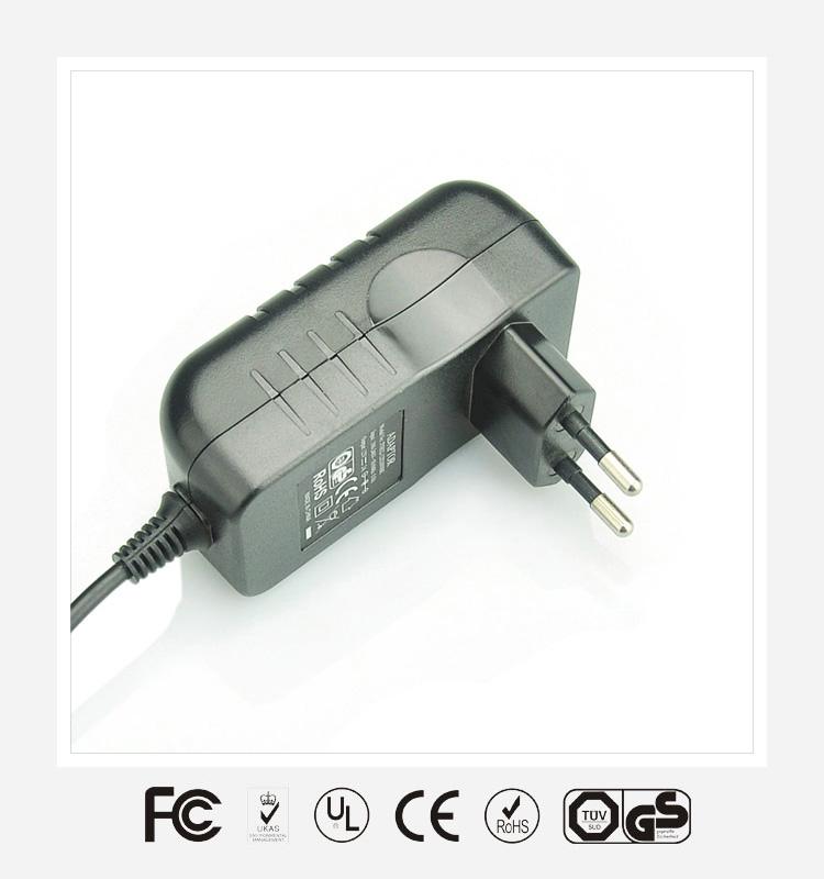 12V3A欧规优质电源适配器
