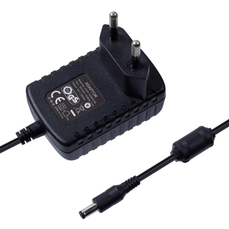 6V1.5A欧规卧式优质电源适配器