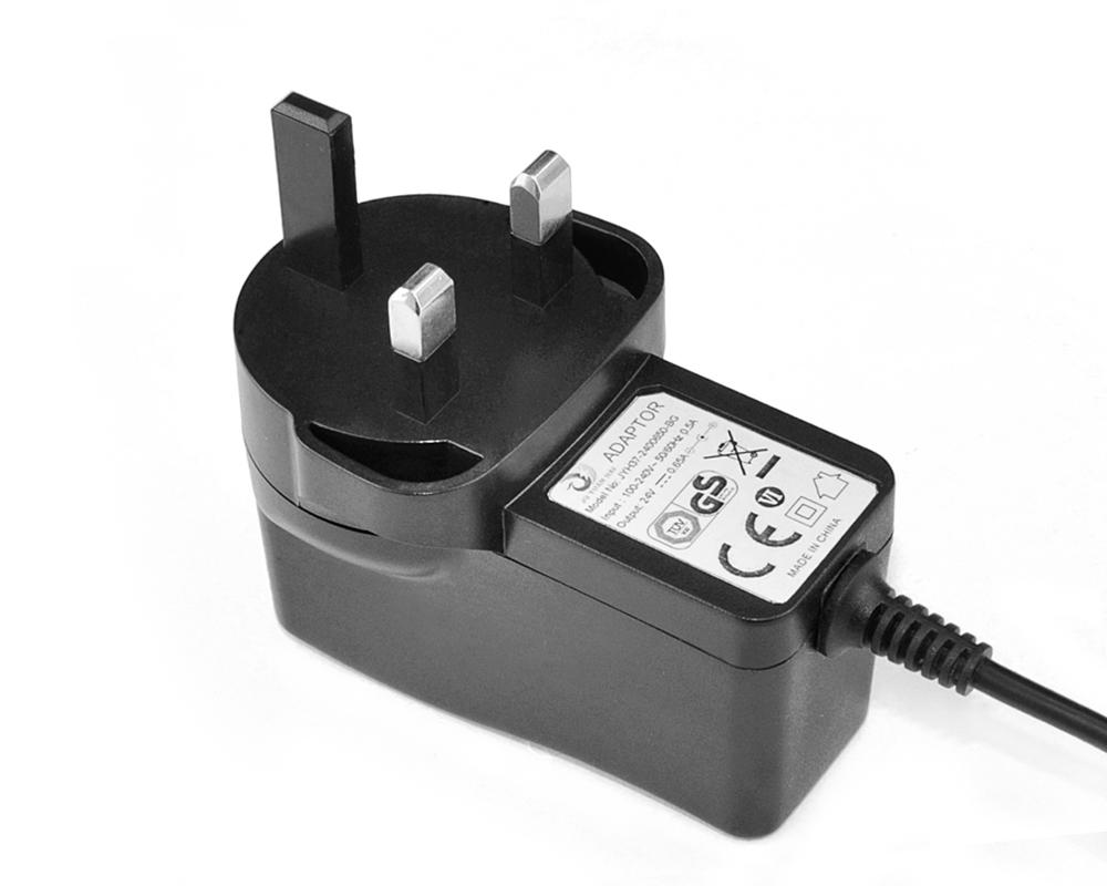 24V0.65A英规适配器