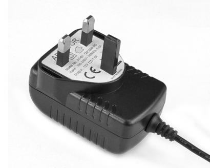5V3A卧式英规优质电源适配器