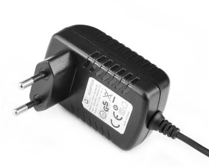 5V2.5A卧式欧规优质电源适配器