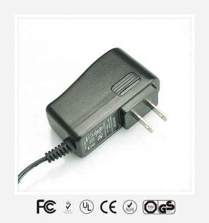 12V1A美规立式优质电源适配器
