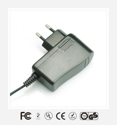 5V2.5A韩规立式优质电源适配器
