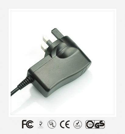 6V0.5A英规立式优质电源适配器