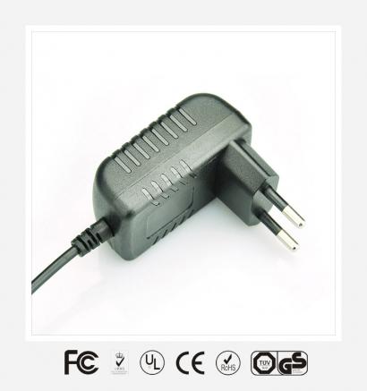 6V0.5A欧规卧式优质电源适配器