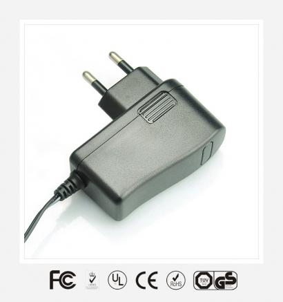 9V1.5A欧规立式优质电源适配器