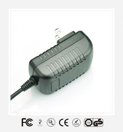 9V1.5A日规卧式优质电源适配器