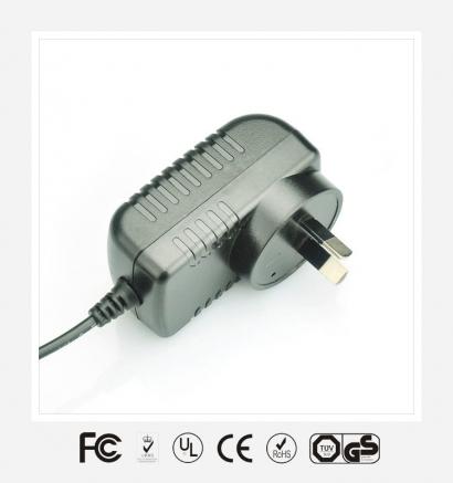 9V1.5A澳规卧式优质电源适配器