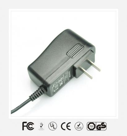 12V1.5A国标立式优质电源适配器