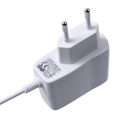 6V1A欧规卧式优质电源适配器